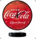 Horloge Vintage Coca Cola   Rouge de 31 cm