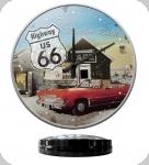 Horloge Vintage Route 66 Highway  de 31 cm
