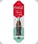 Thermomètre Vintage Coca cola Vert et rouge  de 28 cm