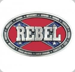 Boucle de Ceinture logo REBEL