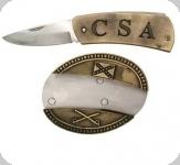 Couteau boucle de Ceinture CSA