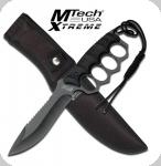 Couteau Poing américain  lame fixe de 17.5 cm