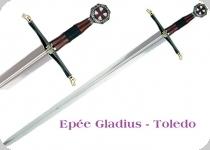 Epée des Croisés noire