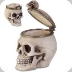Boite à bijoux crane tête de mort