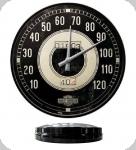 Horloge Vintage Harley-Davidson Compteur  de 31 cm