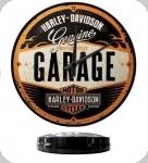 Horloge Vintage Harley-Davidson Garage  de 31 cm