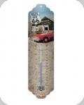 Thermomètre Vintage Route 66  The Mother Road  de 28 cm