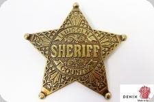 Etoile  shériff Lincoln County 5 pointes