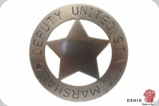 Badge US Marshall Deputy