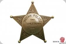 Insigne , plaque de la police indienne