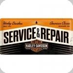 Plaque métal  vintage Service Repair  HD  de 50 x 25 XL