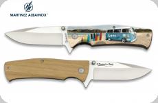 Couteau Pliant WW et Surf  3D   Lame de 8.8 cm
