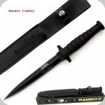 COUTEAU  Rambow VI avec étui Cuir
