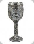 Calice ( ciboire, verre ) Chevalier de 19.5 cm