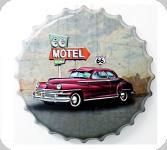 Capsule Métal Vintage  Motel Vacancy 66