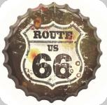 Capsule Métal Vintage Route 66 US Army