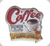 Enseigne vintage 3D à Led / Coffee