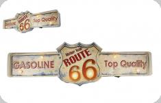 Enseigne vintage 3D à Led  Mother Road Route 66