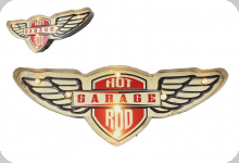 Enseigne vintage 3D à Led / Hot Rod Garage