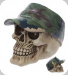 Crâne tête de mort Casquette camo
