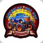 Enseigne vintage 3D à Led  American Hot Rod Garage