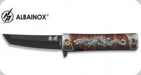 Couteau Pliant tanto impression 3D dragon   lame de 9 cm