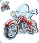 Enseigne vintage 3D à Led  Moto Indian Rouge