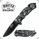 Couteau pliant Design skulls