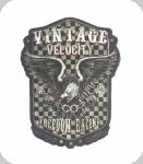 Decor mural vintage 3D / Plaque Aigle Velocity