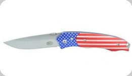 Couteau pliant drapeau USA   lame de 8.5 cm