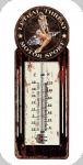 Thermomètre Vintage Motor Sport de 30 cm