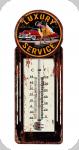Thermomètre Vintage Luxury Service  de 30 cm