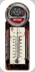 Thermomètre Vintage Hot Rod de 30 cm