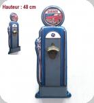 Decapsuleur Vintage Pompe à essence  Garage de 48 cm