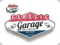 Enseigne vintage losange Classic Garage