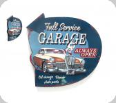 Enseigne vintage 3D / Full service garage