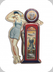 Enseigne vintage 3D 