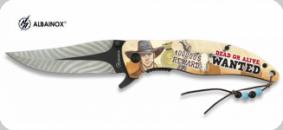 Couteau Pliant Wanted 3D  Lame de 9 cm