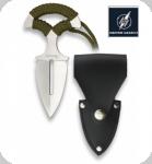 Couteau de Ceinture Push Dagger Nikelé