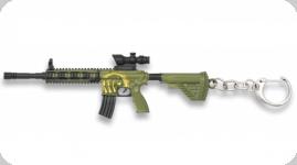 Porte clef fusil d'assaut