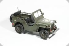 Voiture Métal  Jeep Willys