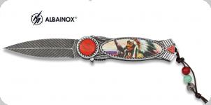 Couteau pliant chef indien   lame de 8.5 cm