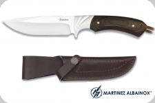 Couteau de chasse  lame de 11.80  avec Etui pour ceinture