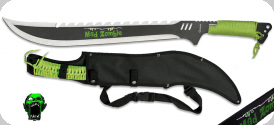 Machette de Brousse dent de scie  