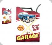 93  Deco vintage 3D  forme jerrican  Voiture Garage