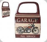 Decor mural vintage 3D  portière Garage Harley